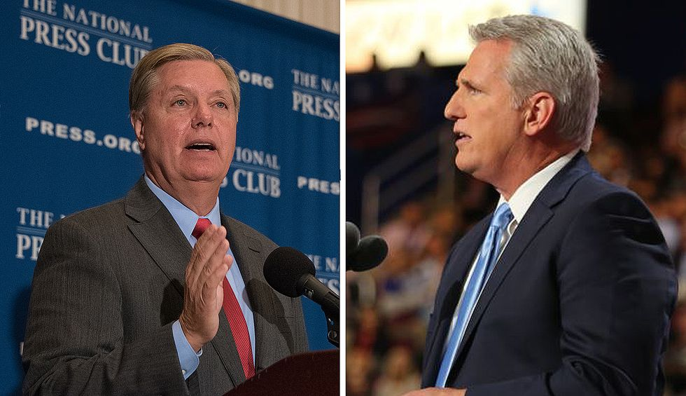 CNN contributor humiliates GOP's Lindsey Graham and Kevin McCarthy for their 'desperate' attempts to defend Trump
