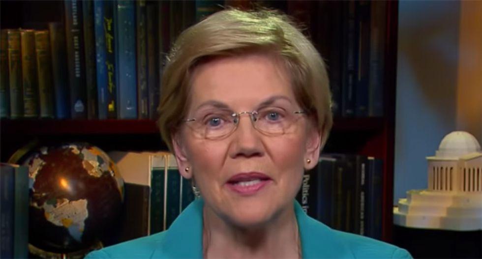 Warren's 'economic patriotism' goes after Trump's 'America first' platform — and his empty promises
