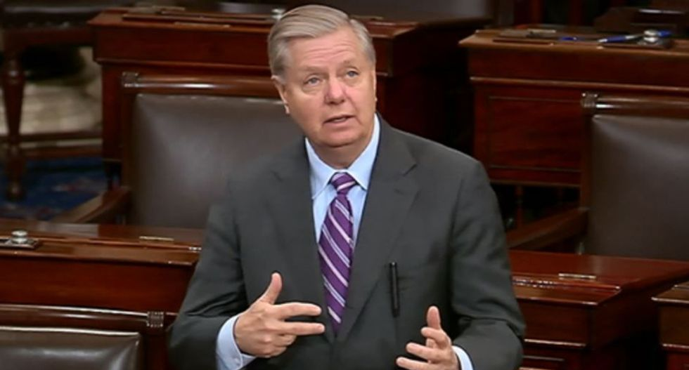 New York Times' Charles Blow wonders if Lindsey Graham is being blackmailed — here's why that's a fair question