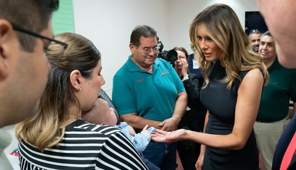 Melania Trump facing demands to condemn her husband after he invokes Barron's name during rally tirade
