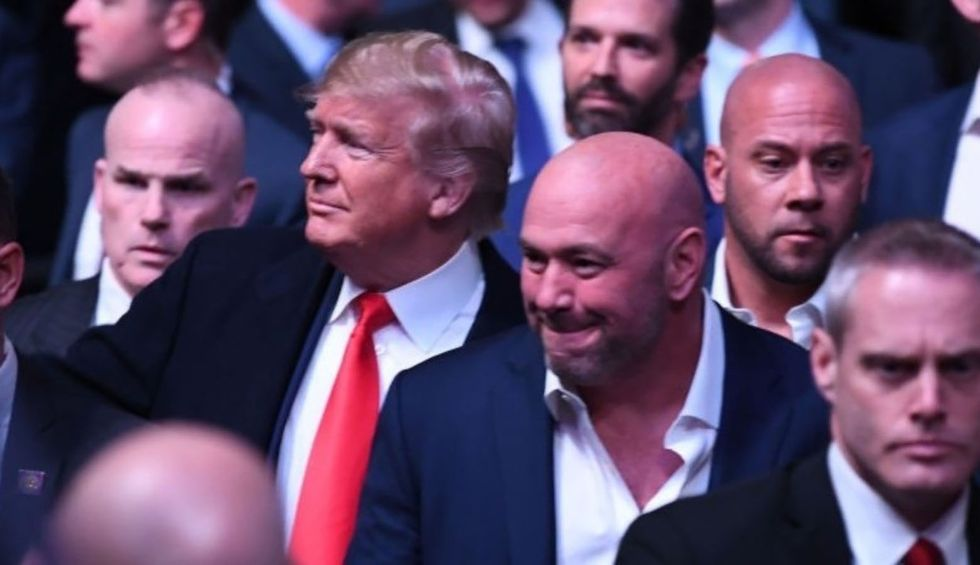 Less than a week after World Series jeers, Trump was booed at UFC fight in NYC