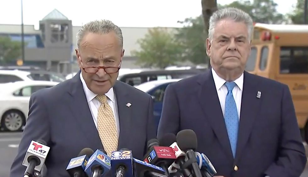 Chuck Schumer torched  for whitewashing King's racist, xenophobic record as soon as he announced retirement