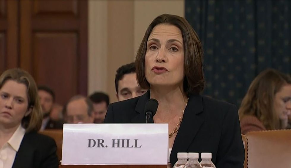 'This is a fictional narrative': Dr. Fiona Hill delivers damning slam against Nunes' lie Ukraine attacked US election