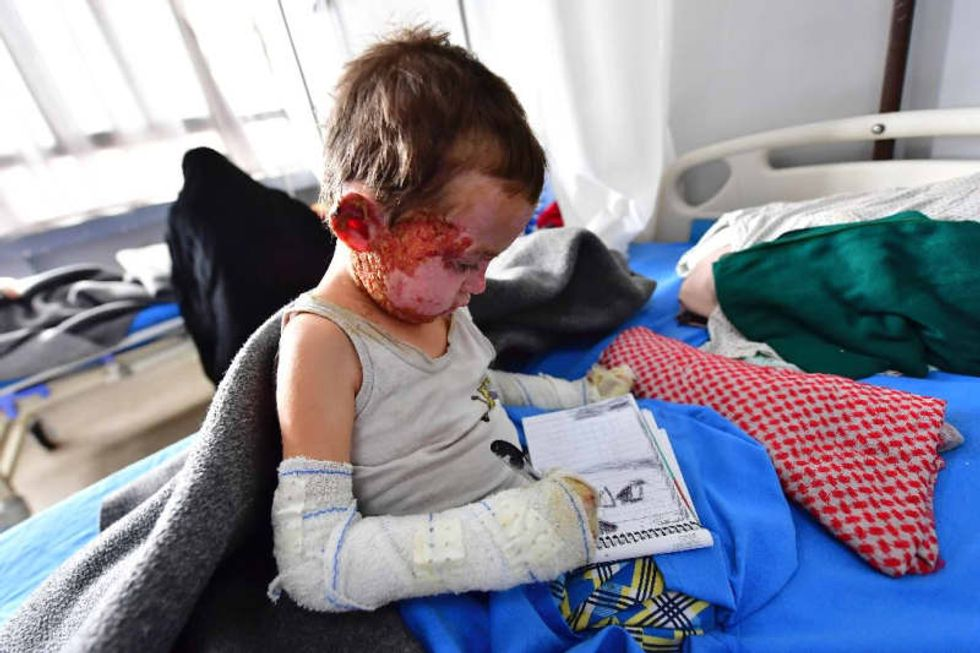 World standing by as children harmed by conflict: charity