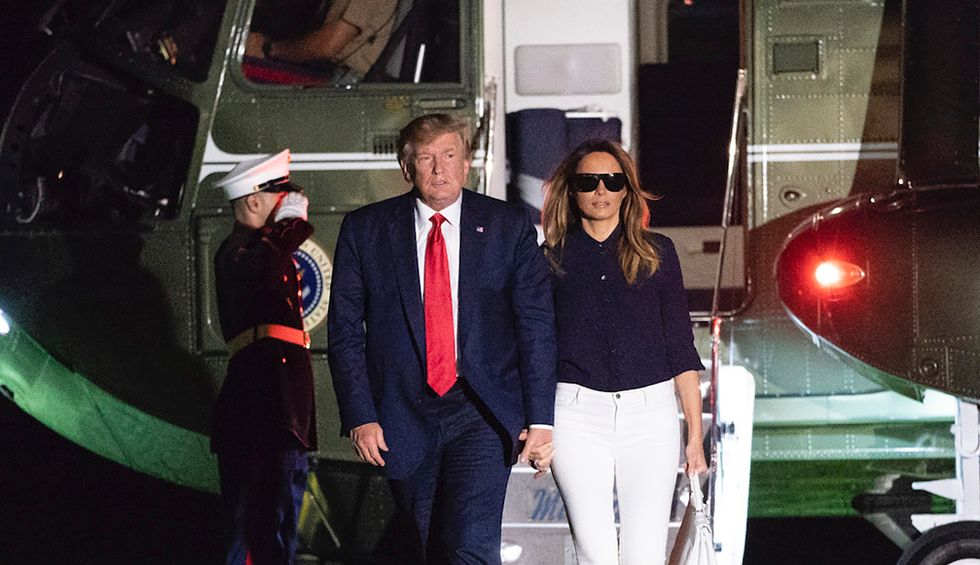 Unauthorized biography of Melania Trump sparks mockery after revealing First Lady and president sleep on separate floors: 'Quid pro quo marriage'