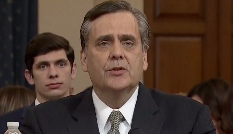 'Pathetic' GOP witness Jonathan Turley slammed for 'embarrassing' himself at impeachment hearing