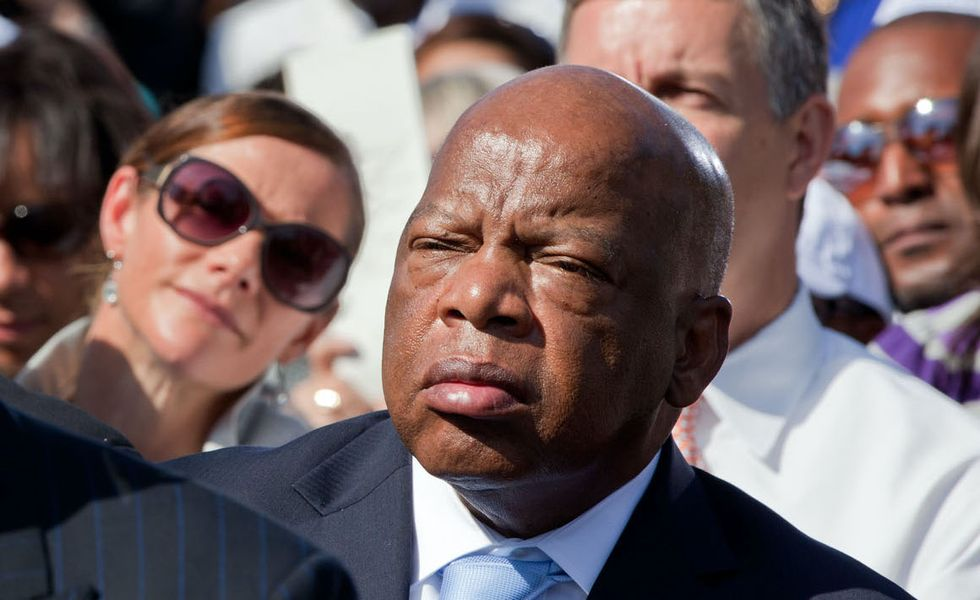 Rep. John Lewis on the struggle to win — and now protect — voting rights in the US