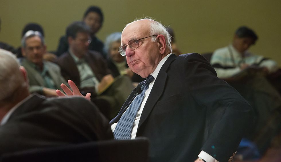 3 months before his death, former Fed Chair Paul Volcker wrote a blistering critique of Trump and 'nihilistic forces' that threaten 'the pillars of our democracy'
