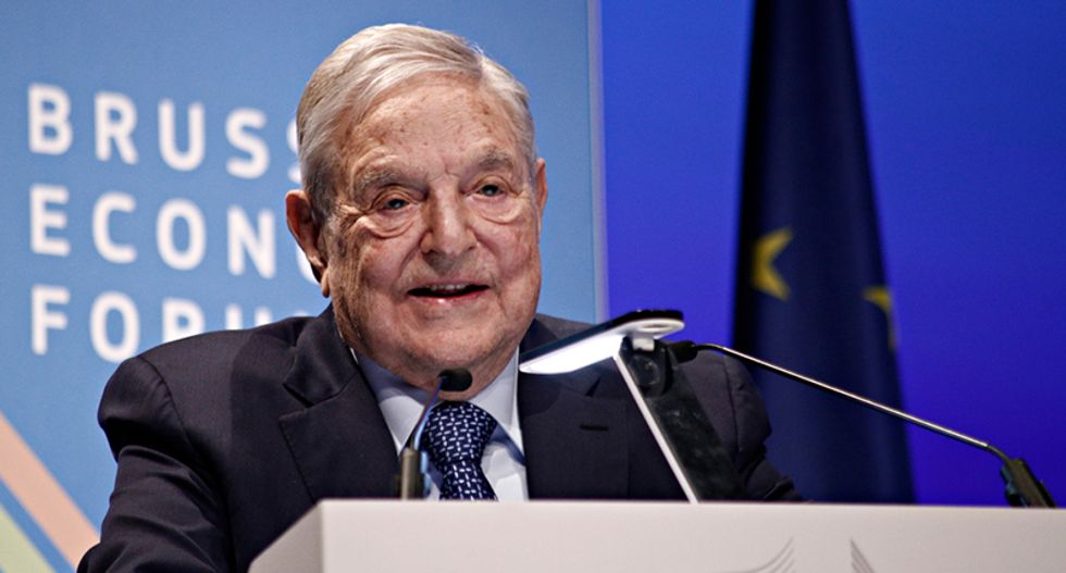 Scapegoating George Soros: This is how the media-savvy far-right spreads lies