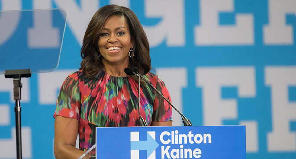Hillary Clinton ousted from top spot as Michelle Obama named most admired woman of 2018