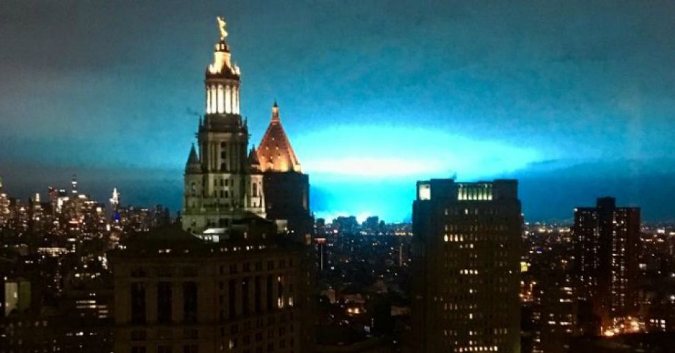New York power plant explosion seen as glowing reminder of dire need to ditch fossil fuels