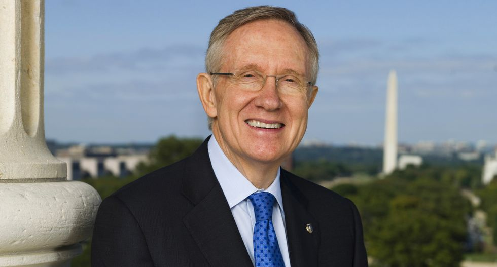 Harry Reid tears into Trump: 'Without question the worst president we've ever had'