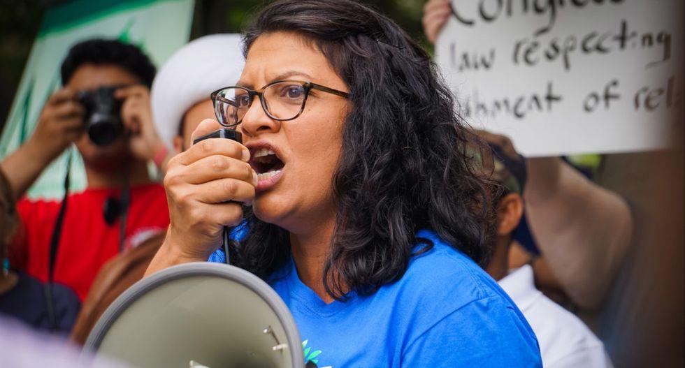 'We will have her back': Jewish constituents rally behind Rashida Tlaib amid Trump attacks