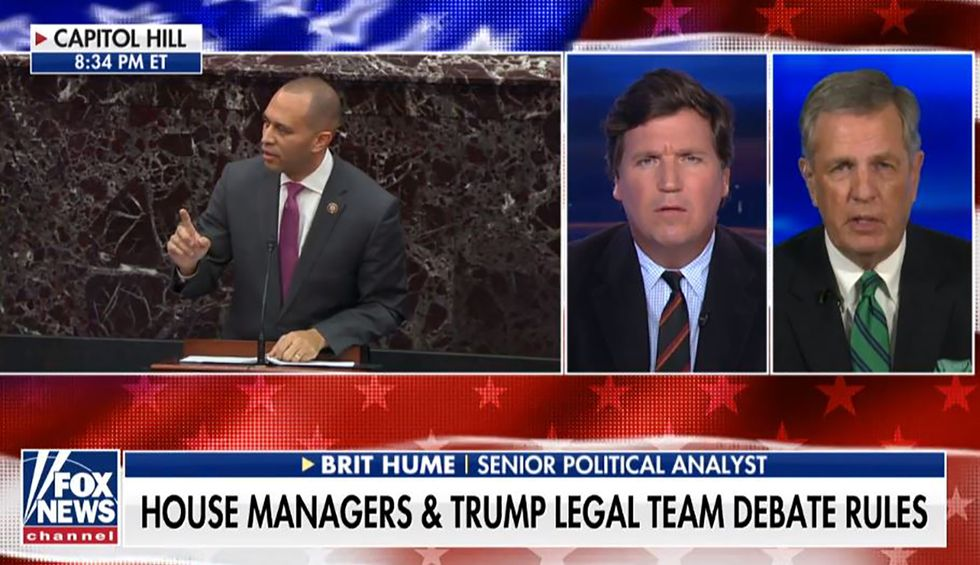 Fox News' senior political analyst admits impeachment could hurt Trump: 'I don't think he's as popular' as Clinton was