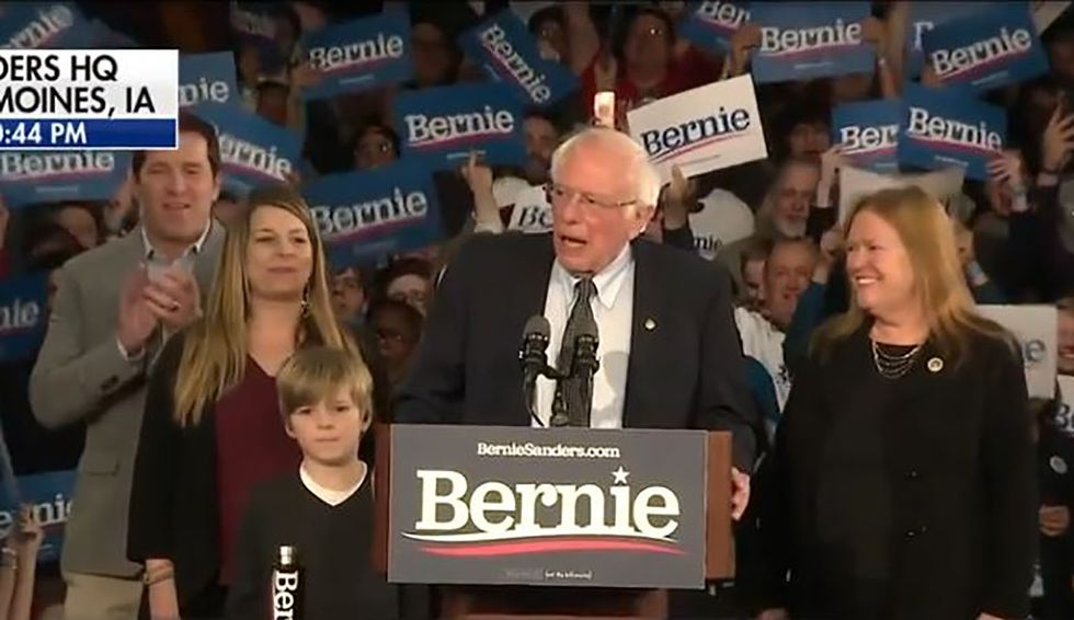 Bernie's no radical: he's an American constitutionalist