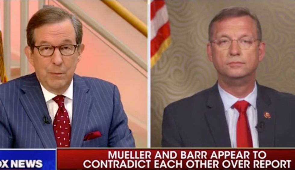 Fox News' Chris Wallace stumps ranking House Republican: Would the FBI be 'derelict in their duty' to ignore Russia attacks?