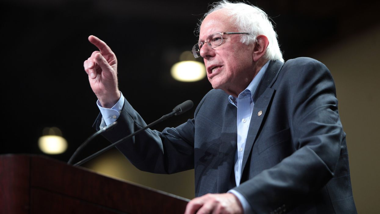 Sanders blasts Mitch McConnell in Kentucky for 'working overtime' to reward the rich and block progress