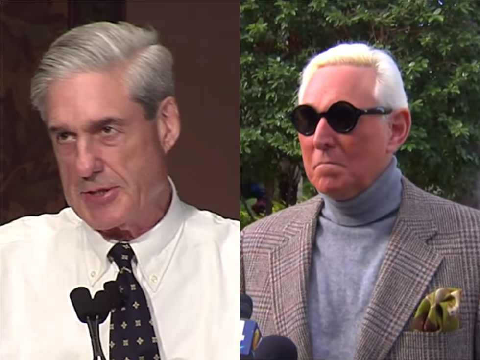 Mueller reveals how Roger Stone's indictment is linked to the Russian hacking case
