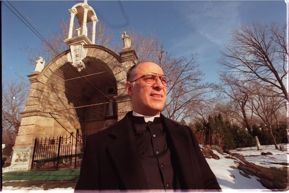 Detroit Catholic church parishioners sue to get back ousted priest accused of molestation