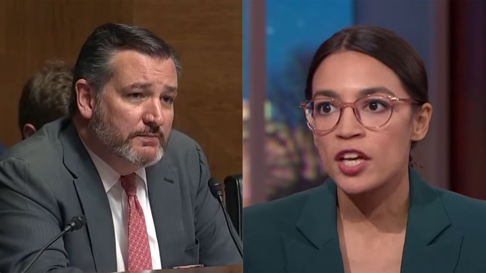 Alexandria Ocasio-Cortez and Ted Cruz actually just found an issue where they agree — and they want to work on a joint bill
