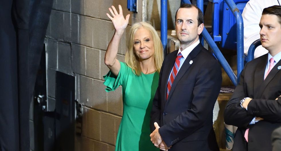 Watch: Kellyanne Conway threatens to 'perform' abortions 'with a gun' on feminists in newly resurfaced video
