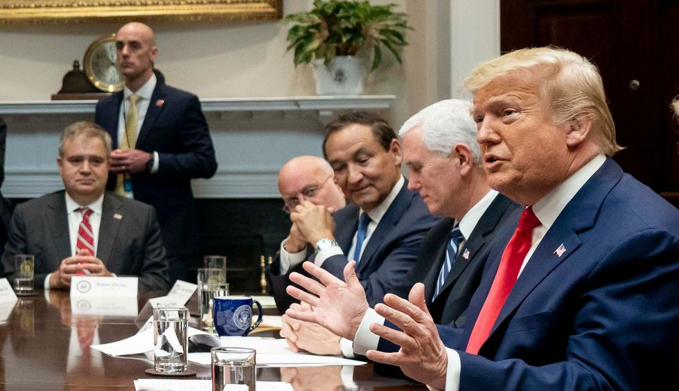 Trump tries to blame Obama for his administration's poor coronavirus response