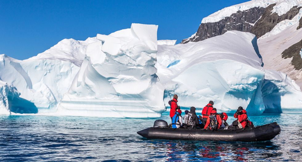 Antarctica's fourth largest ice shelf susceptible to hydrofracture and collapse from winter winds