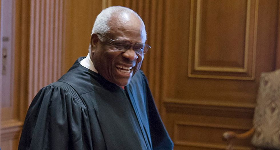 Clarence Thomas makes it abundantly clear: The right is coming for birth control