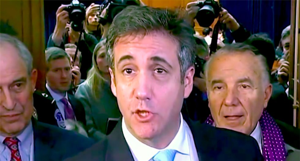 Michael Cohen gives House Intelligence Committee documents on Trump Tower Moscow project