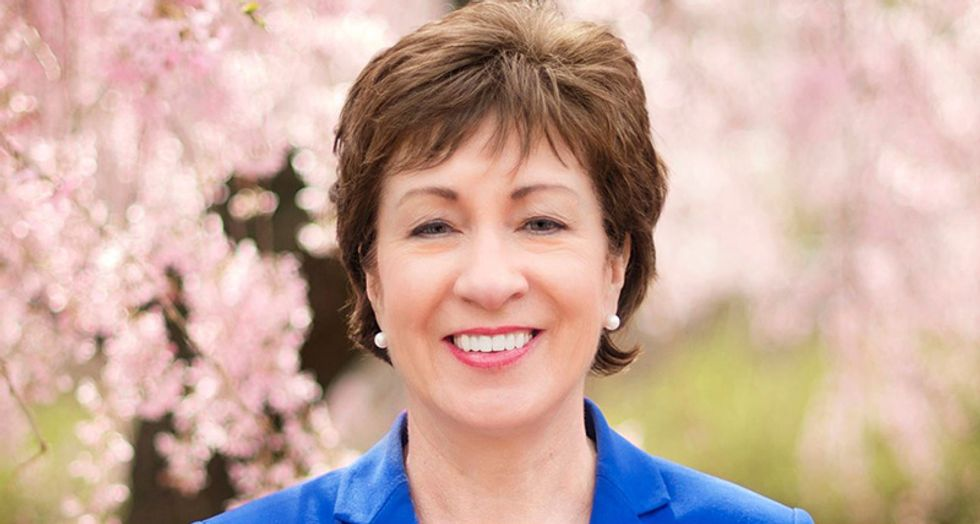 Here's how vulnerable Susan Collins really is