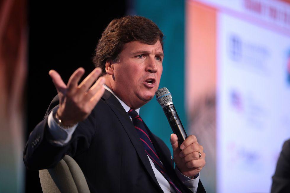 Why isn't Tucker Carlson's hate speech a deal-breaker?