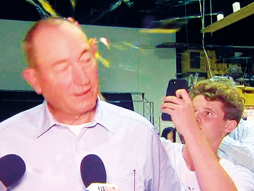 Victim-blaming right-wing senator who ended up with egg on his face to be censured