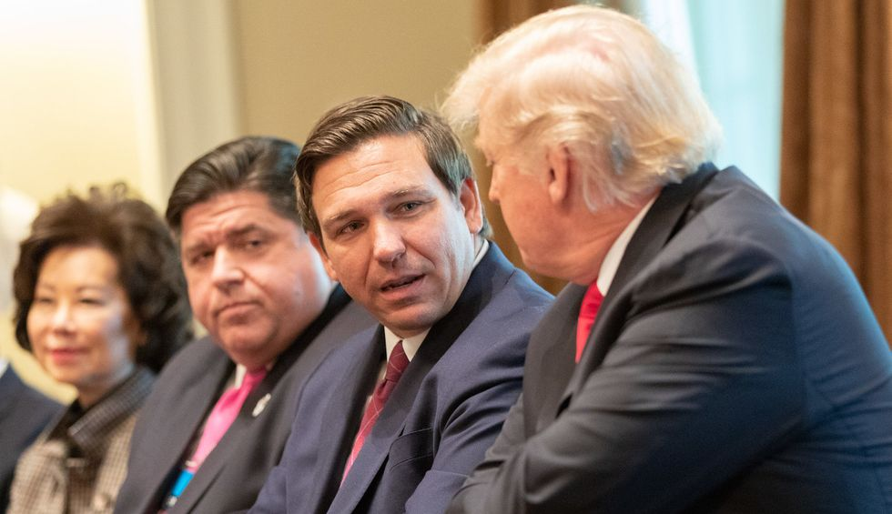 Trump is waging a state-by-state battle over coronavirus shutdowns — but GOP governors are nervous about a premature 'reopening'