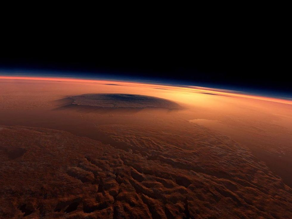 Meteorites from Mars contain clues about the red planet