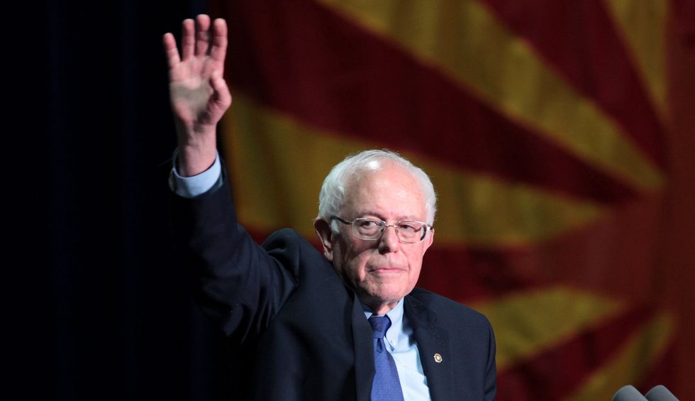 Bernie Sanders could still make an all-out case that only his social welfare philosophy can meet the crisis of coronavirus
