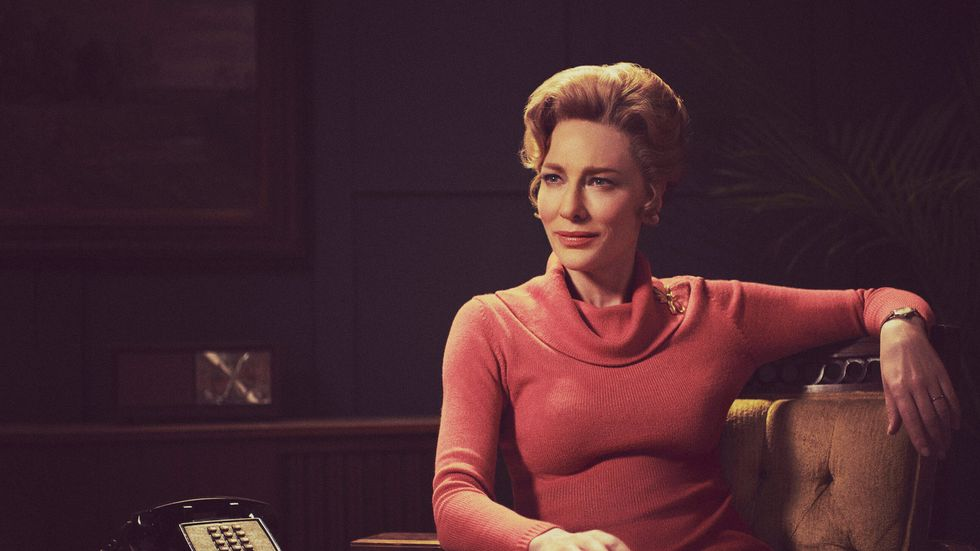 In 'Mrs. America,' Cate Blanchett shines as a frigid firebrand  Phyllis Schlafly who challenges the feminist movement