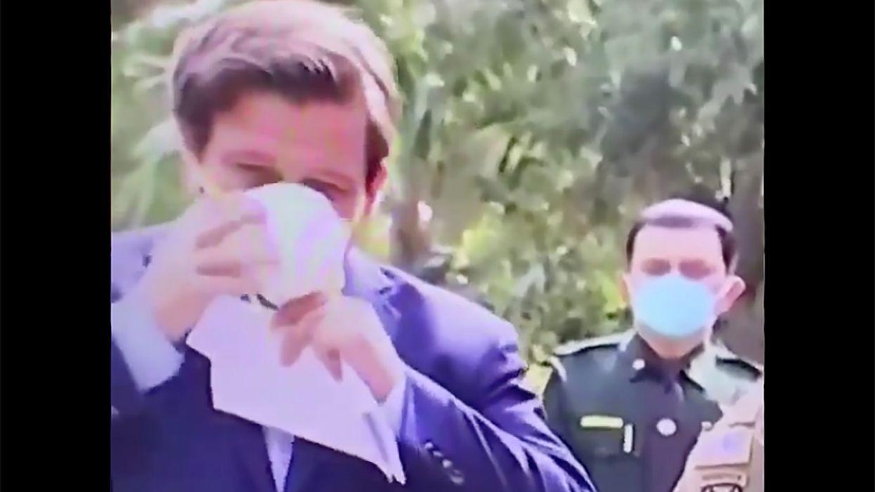 Florida newspaper slams state legislator for refusing to wear a mask