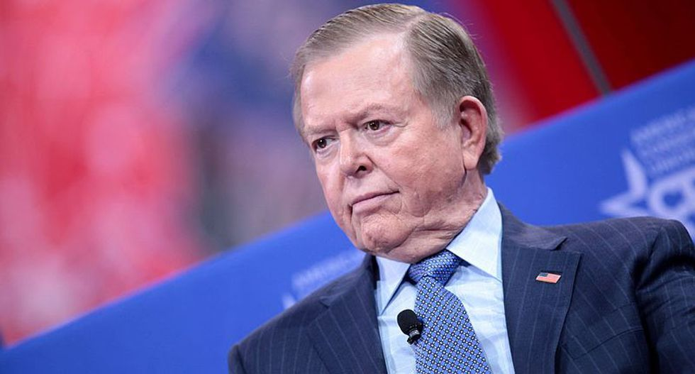 Fox Business host Lou Dobbs: Man who plowed truck into ICE protesters was 'well within his rights'