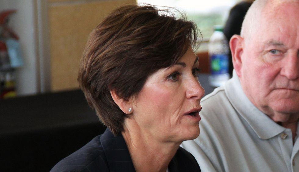 Joni Ernst says she'd be happy to vote on a Supreme Court nominee in a lame duck session