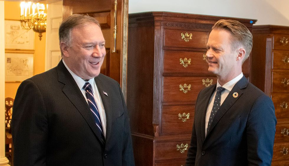 Denmark has COVID-19 totally under control. Its leaders just refused to shake Mike Pompeo's hand