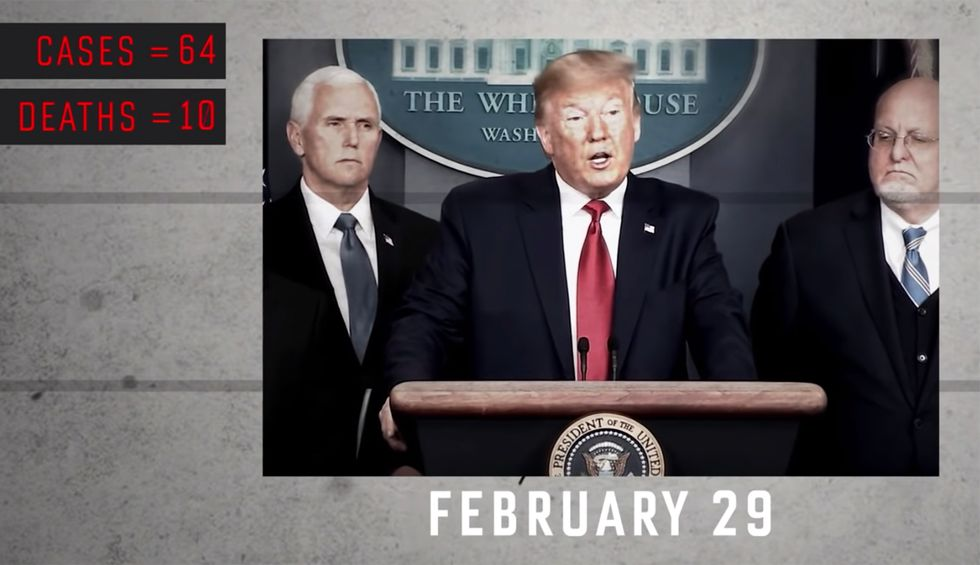 Lincoln Project hits Trump's biggest 'failure' in new ad