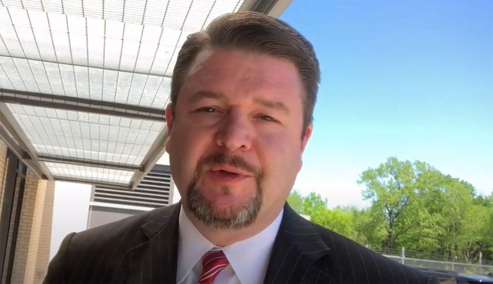 Anti-mask Arkansas senator who called coronavirus a 'hoax' gets COVID-19