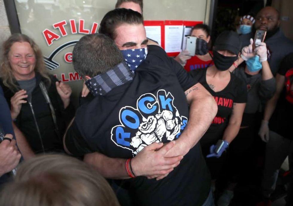 Gym owners arrested for defying NJ Gov. Murphy's shutdown order