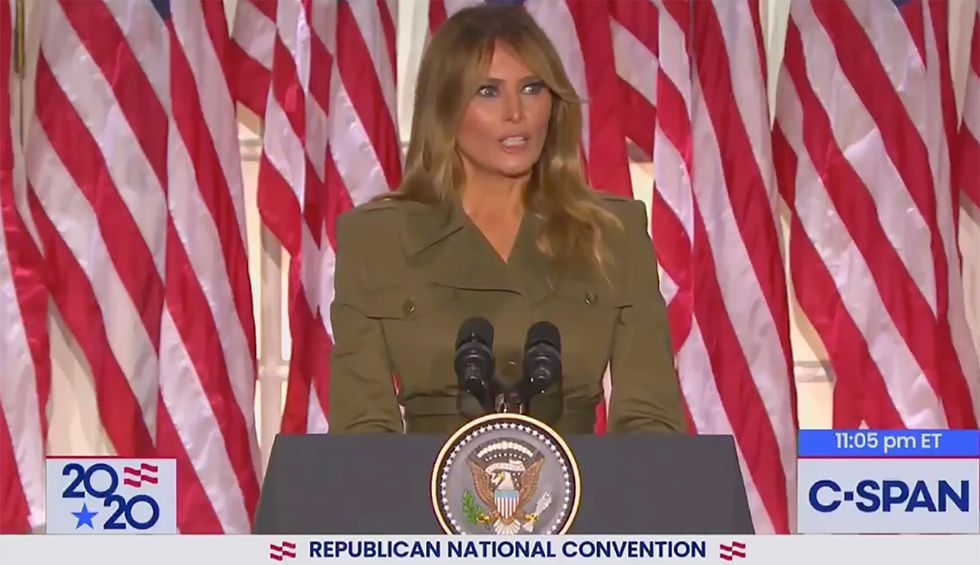 'I almost fell out of my chair': Widespread shock over Melania's claims about Trump