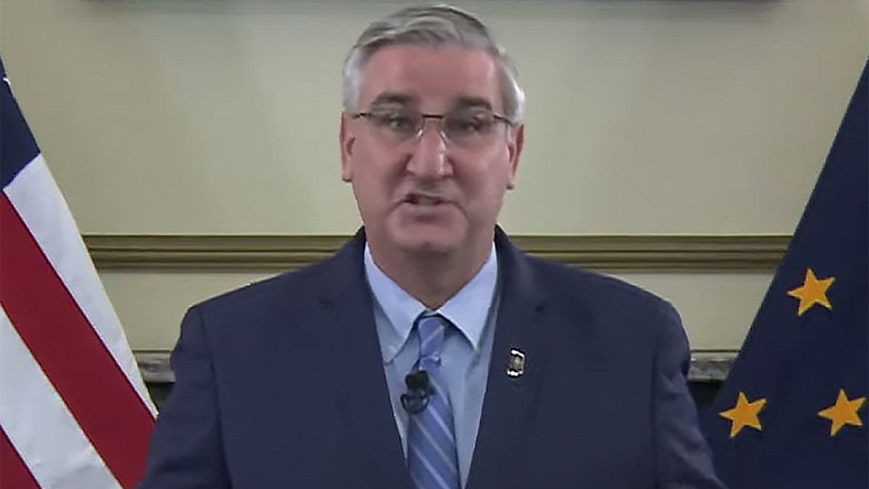How a mask mandate might hurt the re-election chances of Indiana's Republican governor
