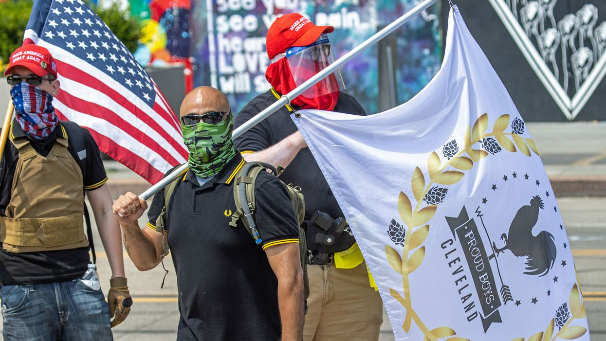 Proud Boys come creeping back out of the woodwork — one hijacked local event at a time