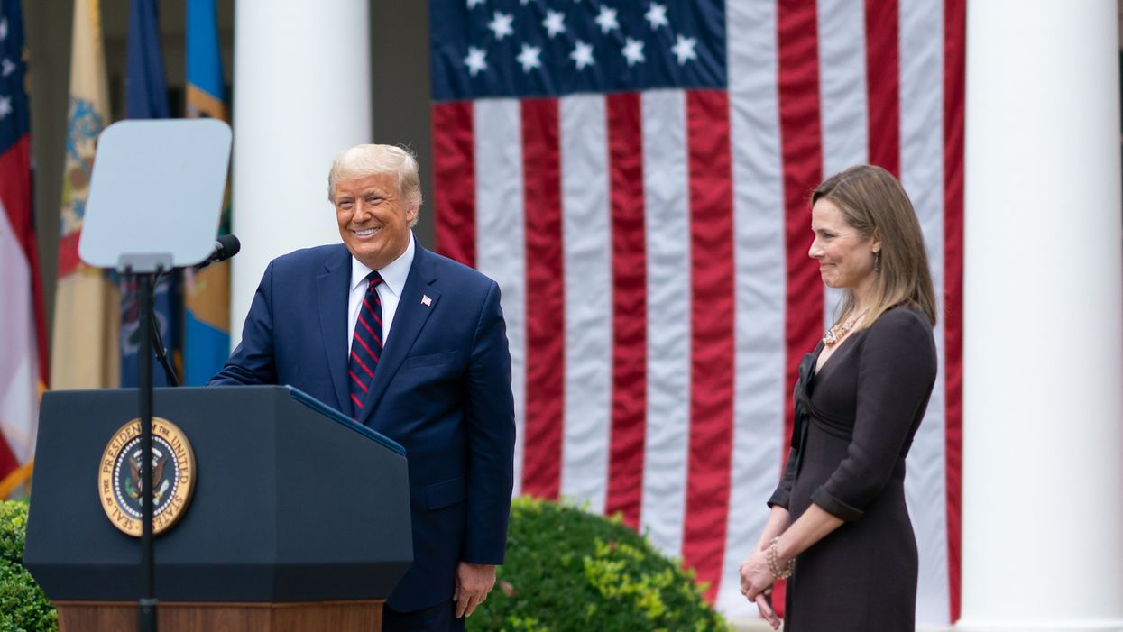 There's a simple reason why Amy Coney Barrett should recuse from any case on the 2020 election