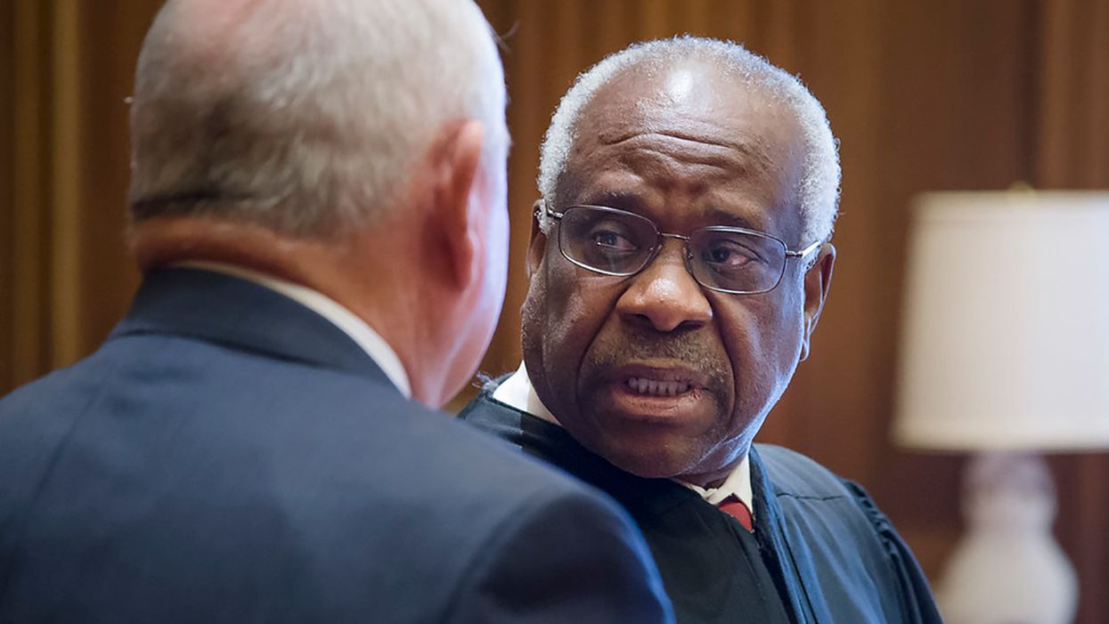 Clarence Thomas pens scathing attack suggesting Supreme Court should overturn same-sex marriage