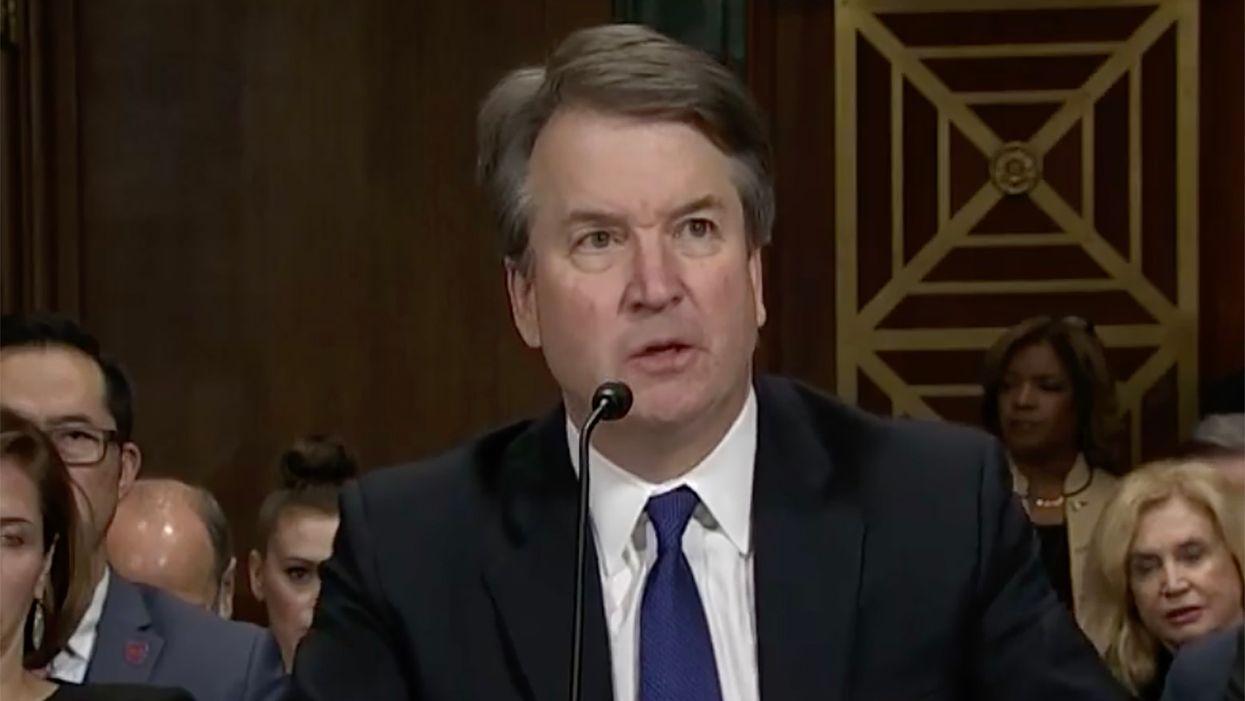 Trump advises Brett Kavanaugh to sue his accusers