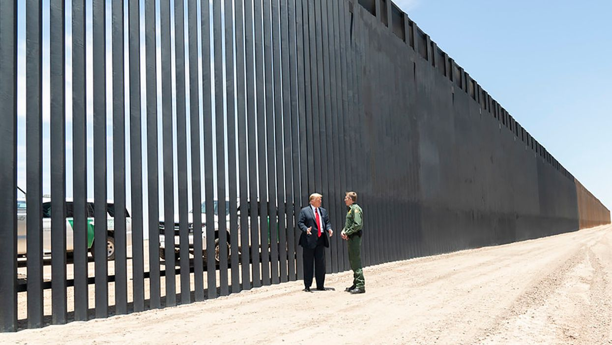 Border wall has inflicted 'incalculable' damage on surrounding land: environmental activist